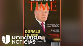 Portada de Time sobre Trump que se exhibe en sus clubes de golf es falsa, según The Washington Post