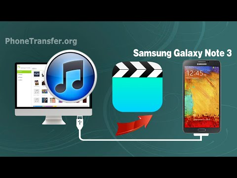 How to Sync Videos from iTunes to Samsung Galaxy Note 3, Transfer iTunes Movies to Note 3 on Mac