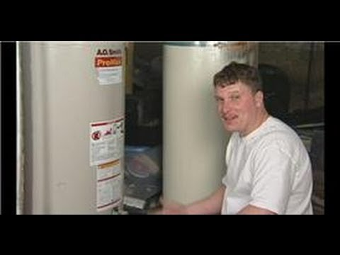 Plumbing & HVAC Maintenance : How to Clean Out a Gas Hot Water Heater