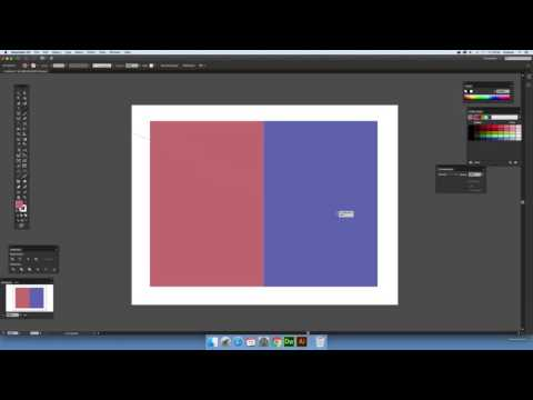 Divide Objects Below and splitting Illustrator paths (Intermediate) tutorial