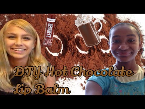 DIY Hot Chocolate Lip Balm