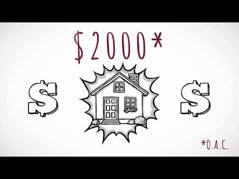 Buying a house with Grant Money - $2000 can get you a home
