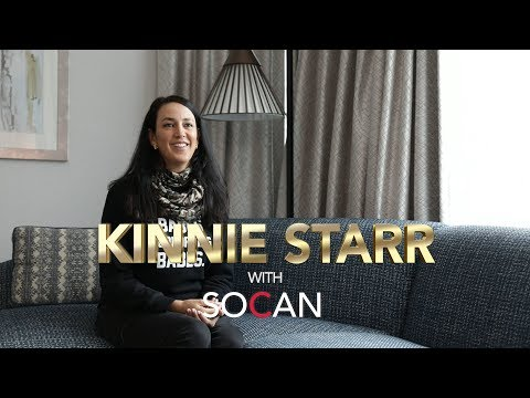 Kinnie Starr with SOCAN