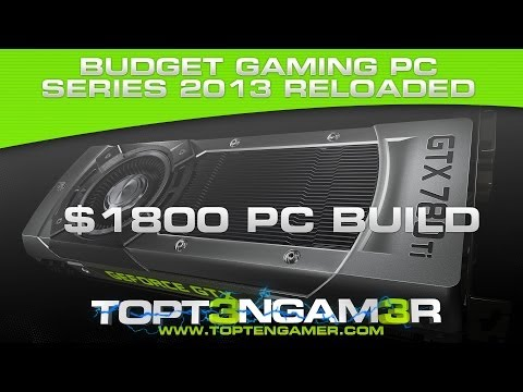 Good 1440p and 1600p Gaming Computer Build for $1800 2013