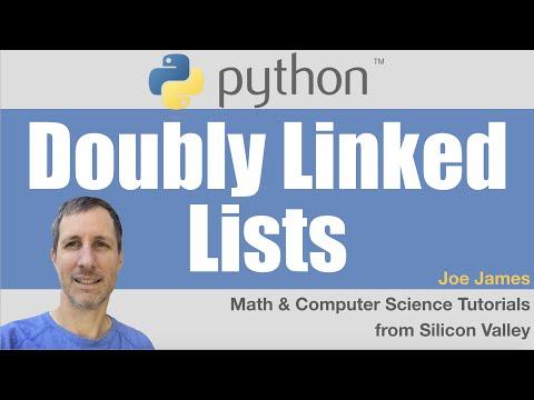 Python: Doubly Linked Lists