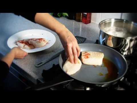 Paprika cod with chorizo potatoes recipe from Waitrose