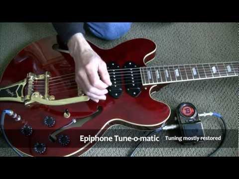 Replacing Tune-o-matic with Wilkinson Roller Bridge - PlayItHub