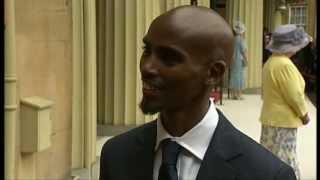 Mo Farah gets CBE