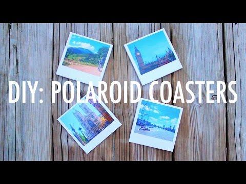 DIY Polaroid Coasters   Easy & Creative