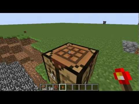 Minecraft: How to Craft TNT - Minecraft 1.3.1