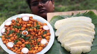 Making Fresh Milk Paneer || Cooking Tasty Paneer Chilli in Village || Food Money Food