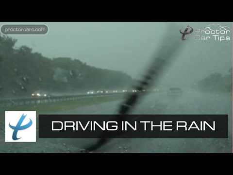 How To Avoid Skidding - Safety Tips for Driving in Rainy Weather