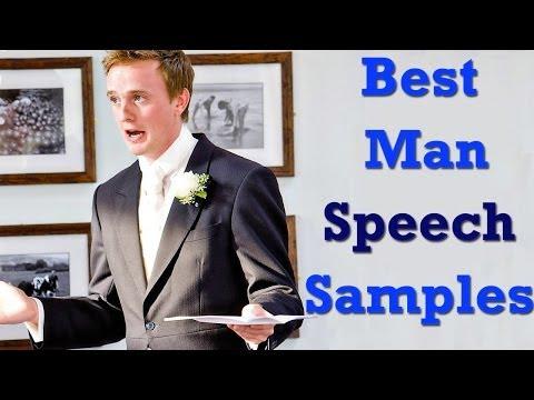 Best Man Speech Samples