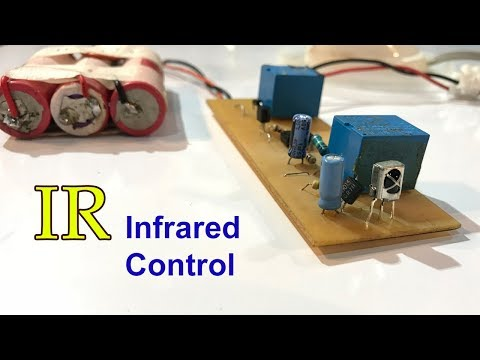 How to make  Remote Control Light and Fan at home, TV remote, Portable remote