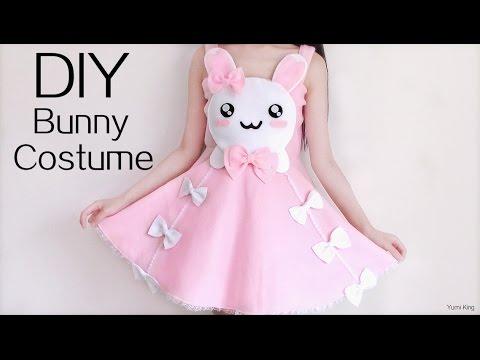 Cute Halloween DIY: Bunny Costume/Dress