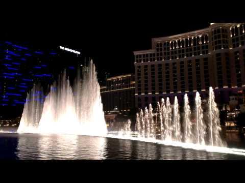 Fountains of Bellagio, Bellagio Resort and Casino, Las Vegas, Nevada, United States, North America