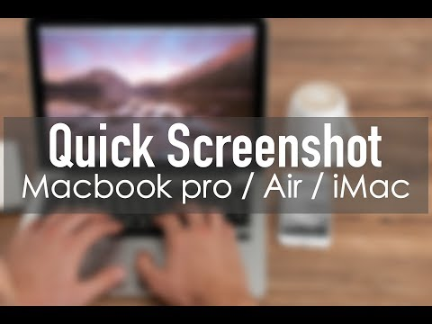 2 Quick Ways to Take Screenshots on MacBook Pro / Air