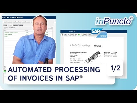Easy Way For Automated Processing Of Invoices In Sap With Purchase Or