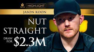 Biggest pot in TV poker history? Million Euro Cash Game at Triton Poker Super High Roller Series