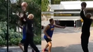 LaVar Ball FINALLY Shows Michael Jordan His Ball Skills In LEAKED FOOTAGE!