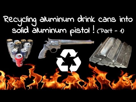 Aluminum Pistol Casting - Part 1