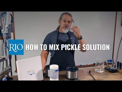 How to Mix Pickle Solution