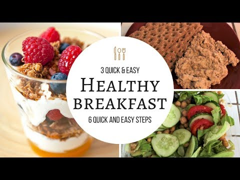 3 Quick and Easy Healthy Breakfast Ideas | Weight Loss Journey | Candy WorldTV
