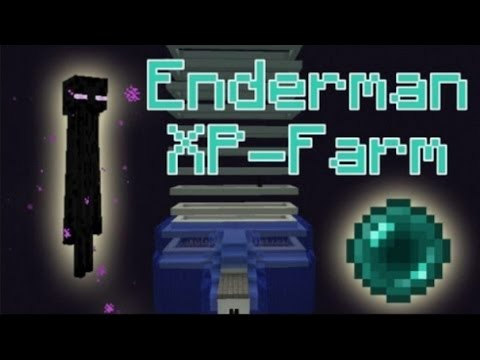 Minecraft PS4 Edition how to build a highly efficient enderman spawner!