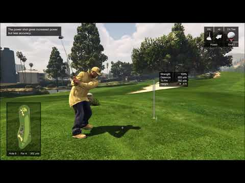 GTA V Online Golf: Hooks on H8 & H9
