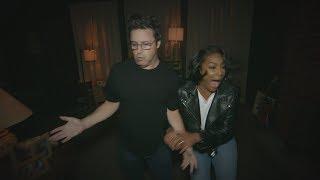 Tiffany Haddish and Average Andy Go Through a Haunted House