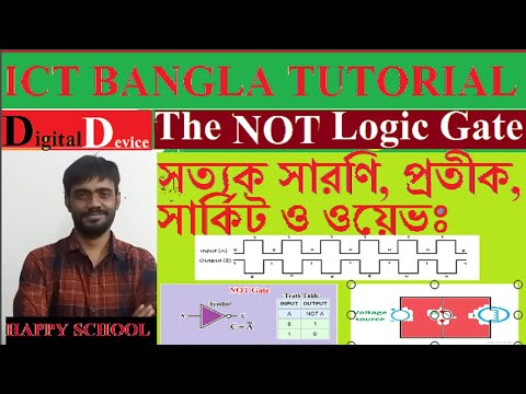 Introduction to Logic Gates | NOT GATE | HSC ICT Bangla Tutorial