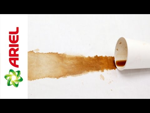 How to Remove Coffee Stains from Fabrics - Ariel