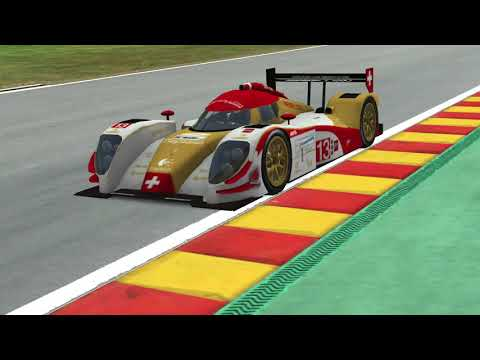 rFactor2 - Start of a 90min test race for a 12h main event
