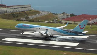 Funchal Madeira Airport Spotting ✈ Spectacular Landings & Departures