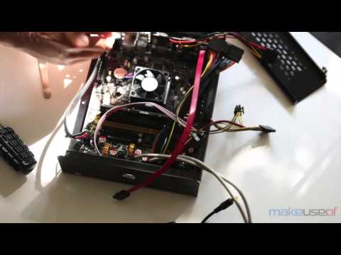 DIY Budget HTPC Media Center Build Time Lapse