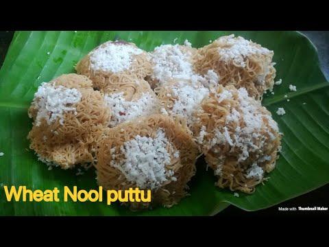Wheat idiyappam in Malayalam / Gothambu idiyappam / Gothambu nool puttu / wheat idiyappam recipe