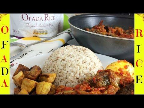 How to Cook Ofada Rice | Ofada Rice