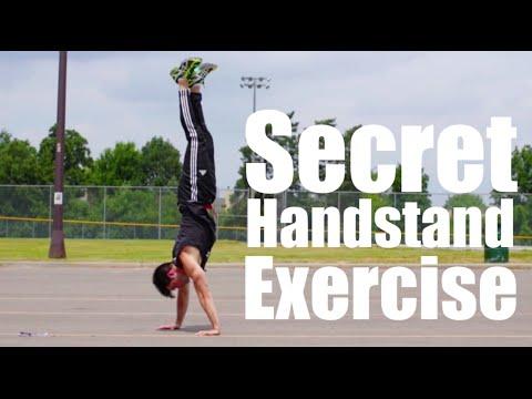 Fix Handstand Balance Problems Now   One Secret Exercise