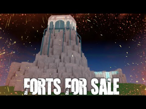 ROBLOX: Sci-Fi Fort Building Overview (For Sale!) - Ultimate Forts.