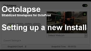 First Timelapse using the latest OctoLapse plugin for Octoprint!