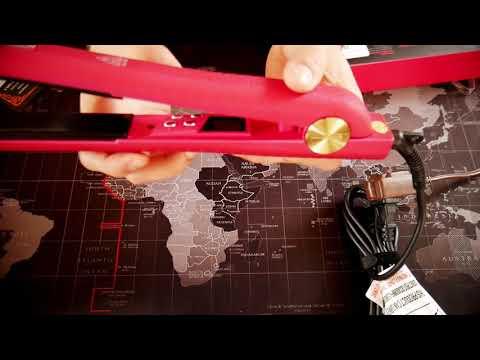HSI Professional GliderPlus Pink Hair Straightener Flat Iron