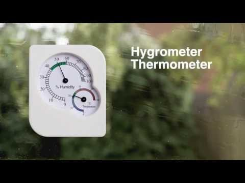 Hygrometer Thermometer - How it Works