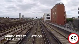 London Bridge to Brighton driver's eye view