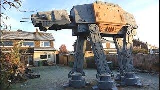 GIANT Star Wars AT-ACT Garden Den
