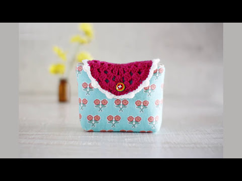 Shine Sewing Tutorial Mini Cosmetic Bag Tutorial