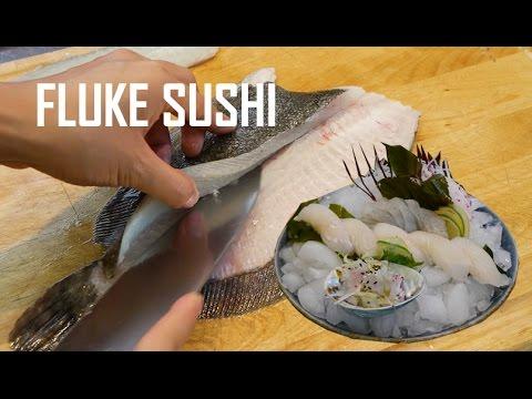 How to Fillet Fluke & Flounder for Sushi and Sashimi (Part 1)