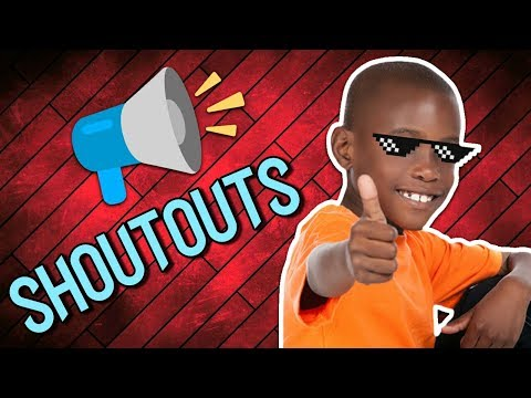 How to get a free shoutout! ( GAIN SUBS )