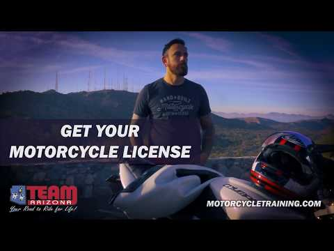 It All Starts Here | Get Your Arizona Motorcycle License | Fulfill Your Dream | TEAM Arizona