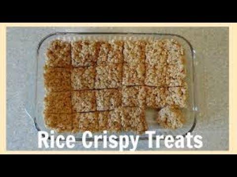 HOW TO MAKE RICE CRISPY TREATS WITH A MICROWAVE idek