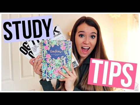 5 Study and Organization Tips: For College and High School!